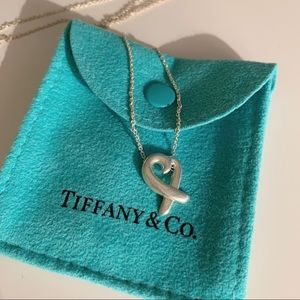 Tiffany & Co Paloma Picasso Heart Necklace